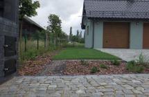 Projekt i aranżacja zieleni, okolice Barczewa