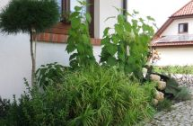 Projekt i aranżacja zieleni, okolice Dywit